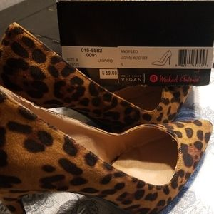 Michael Antonio Leopard Microfiber Shoes
